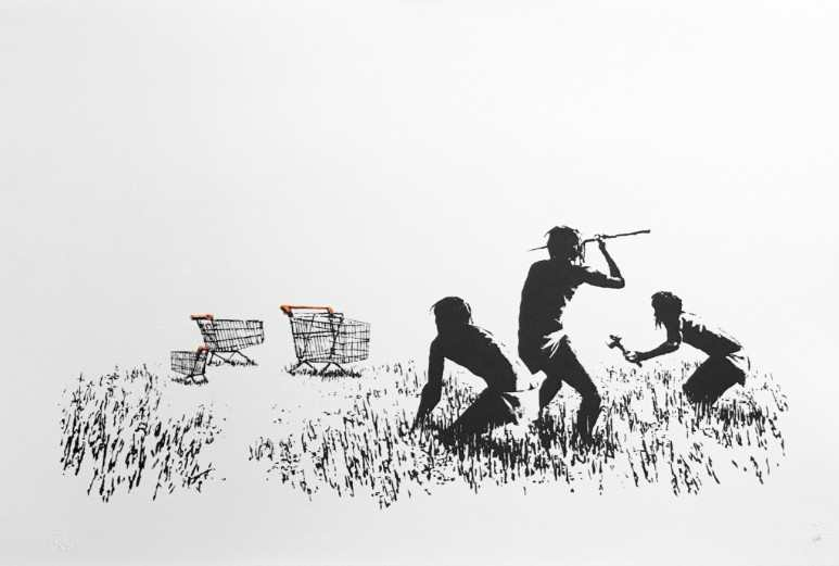 Source works by Banksy