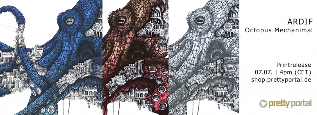 "Image for ARDIF ""Octopus Mechanimal"" New Print relea 