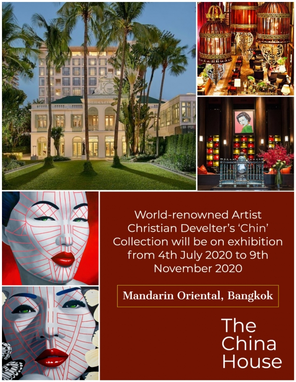 Image for Christian Develter 'Chin Series' Exhibition at The Mandarin Oriental Bangkok Gallery Shows