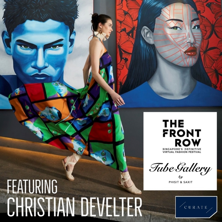 Image for The Launch of Internationally Renowned Artist Christian Develter's Resort Wear Collection Live on the Runway Gallery Shows
