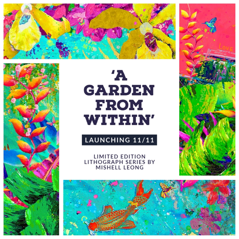Image for 'A Garden From Within' by International Artist Mishell Leong Launches Online on 11/11 New Release